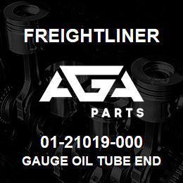 01-21019-000 Freightliner GAUGE OIL TUBE END | AGA Parts
