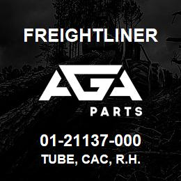 01-21137-000 Freightliner TUBE, CAC, R.H. | AGA Parts