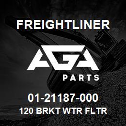 01-21187-000 Freightliner 120 BRKT WTR FLTR | AGA Parts