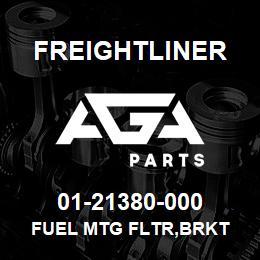 01-21380-000 Freightliner FUEL MTG FLTR,BRKT | AGA Parts