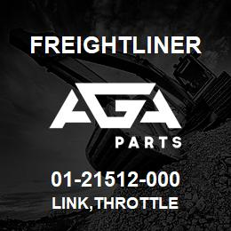 01-21512-000 Freightliner LINK,THROTTLE | AGA Parts