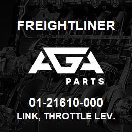 01-21610-000 Freightliner LINK, THROTTLE LEV. | AGA Parts