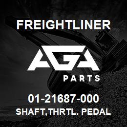 01-21687-000 Freightliner SHAFT,THRTL. PEDAL | AGA Parts