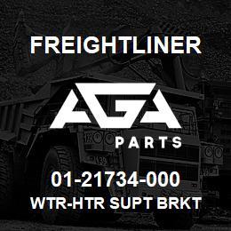 01-21734-000 Freightliner WTR-HTR SUPT BRKT | AGA Parts