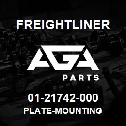 01-21742-000 Freightliner PLATE-MOUNTING | AGA Parts
