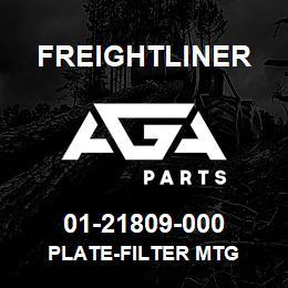 01-21809-000 Freightliner PLATE-FILTER MTG | AGA Parts