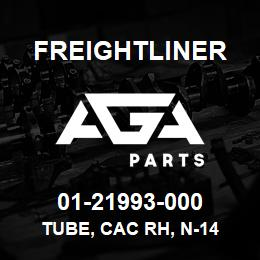 01-21993-000 Freightliner TUBE, CAC RH, N-14 | AGA Parts