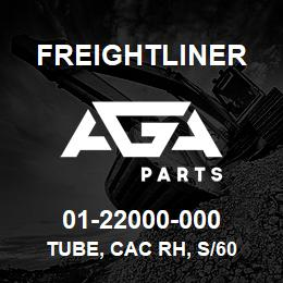 01-22000-000 Freightliner TUBE, CAC RH, S/60 | AGA Parts