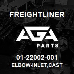 01-22002-001 Freightliner ELBOW-INLET,CAST | AGA Parts