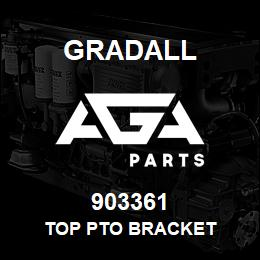 903361 Gradall TOP PTO BRACKET | AGA Parts