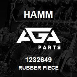 1232649 Hamm RUBBER PIECE | AGA Parts