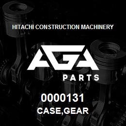 0000131 Hitachi CASE,GEAR | AGA Parts