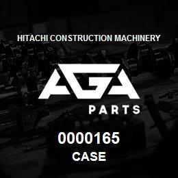 0000165 Hitachi CASE | AGA Parts
