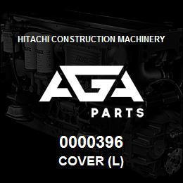 0000396 Hitachi COVER (L) | AGA Parts