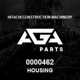 0000462 Hitachi HOUSING | AGA Parts