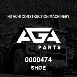 0000474 Hitachi SHOE | AGA Parts
