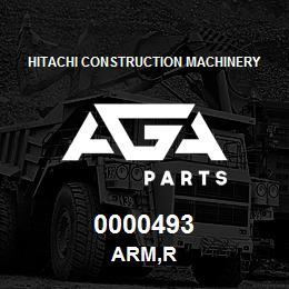 0000493 Hitachi ARM,R | AGA Parts
