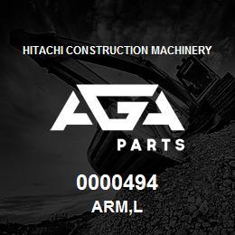 0000494 Hitachi ARM,L | AGA Parts