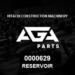 0000629 Hitachi RESERVOIR | AGA Parts