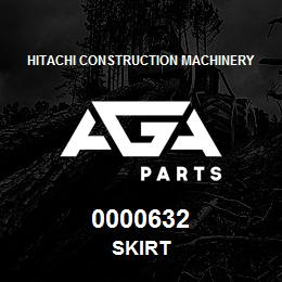 0000632 Hitachi SKIRT | AGA Parts