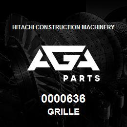 0000636 Hitachi GRILLE | AGA Parts