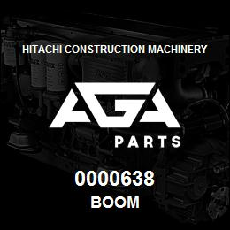 0000638 Hitachi BOOM | AGA Parts