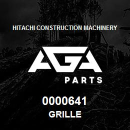 0000641 Hitachi GRILLE | AGA Parts