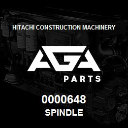 0000648 Hitachi SPINDLE | AGA Parts