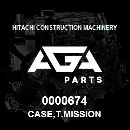 0000674 Hitachi CASE,T.MISSION | AGA Parts
