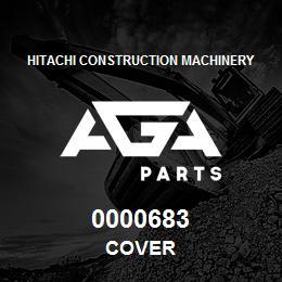 0000683 Hitachi COVER | AGA Parts