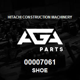 00007061 Hitachi SHOE | AGA Parts