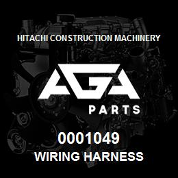 0001049 Hitachi WIRING HARNESS | AGA Parts