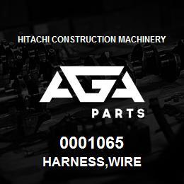 0001065 Hitachi HARNESS,WIRE | AGA Parts