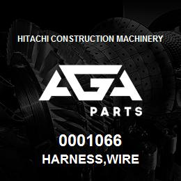0001066 Hitachi HARNESS,WIRE | AGA Parts