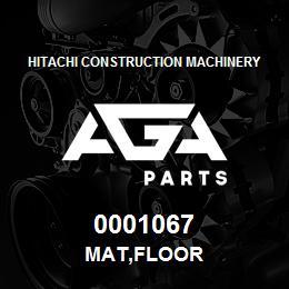 0001067 Hitachi MAT,FLOOR | AGA Parts