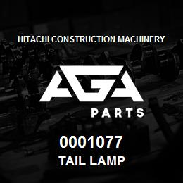 0001077 Hitachi Tail Lamp | AGA Parts