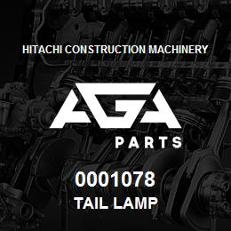 0001078 Hitachi TAIL LAMP | AGA Parts