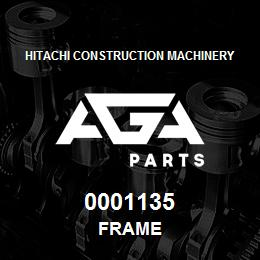 0001135 Hitachi FRAME | AGA Parts
