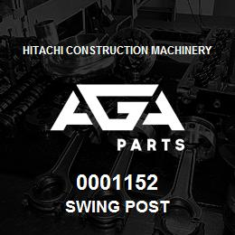0001152 Hitachi SWING POST | AGA Parts
