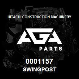 0001157 Hitachi SWINGPOST | AGA Parts