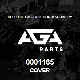 0001165 Hitachi COVER | AGA Parts