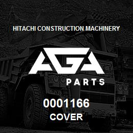 0001166 Hitachi COVER | AGA Parts
