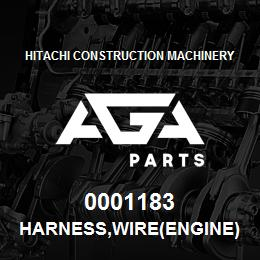 0001183 Hitachi HARNESS,WIRE(ENGINE) | AGA Parts