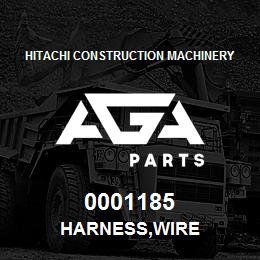 0001185 Hitachi HARNESS,WIRE | AGA Parts
