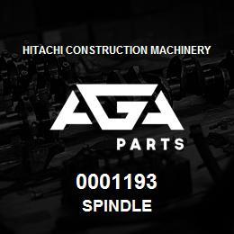 0001193 Hitachi SPINDLE | AGA Parts
