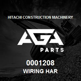 0001208 Hitachi WIRING HAR | AGA Parts