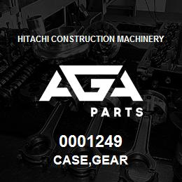 0001249 Hitachi CASE,GEAR | AGA Parts