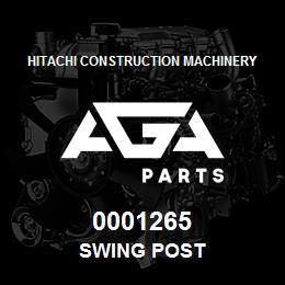 0001265 Hitachi SWING POST | AGA Parts