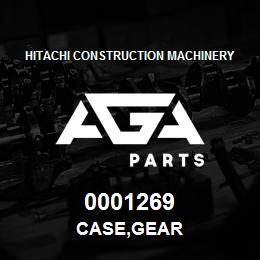 0001269 Hitachi CASE,GEAR   AGA Parts