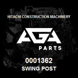 0001362 Hitachi SWING POST | AGA Parts